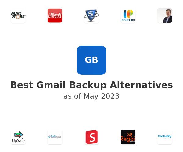 Best Gmail Backup Alternatives
