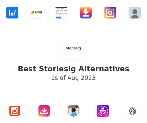 Best Storiesig Alternatives