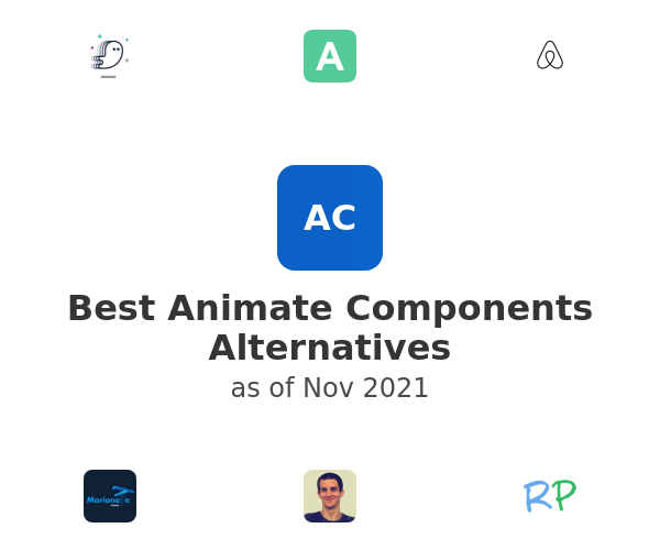 Best Animate Components Alternatives