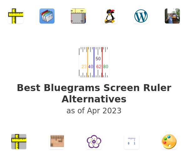Best Bluegrams Screen Ruler Alternatives