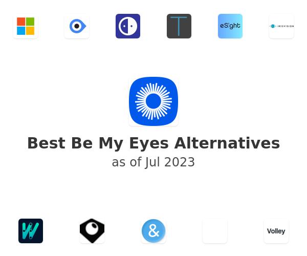 Best Be My Eyes Alternatives