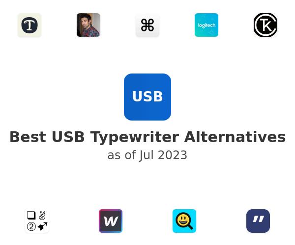 Best USB Typewriter Alternatives