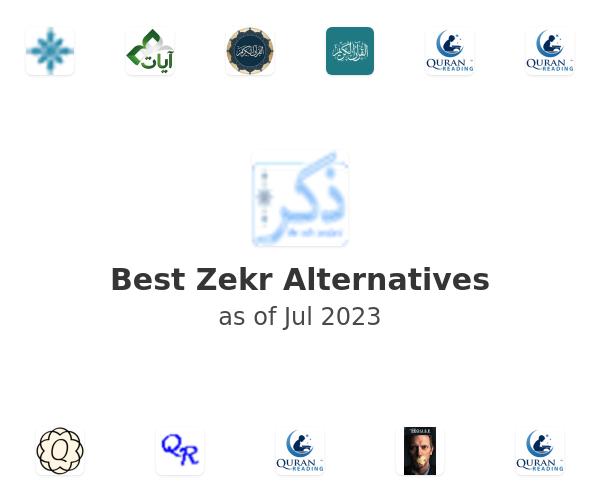 Best Zekr Alternatives