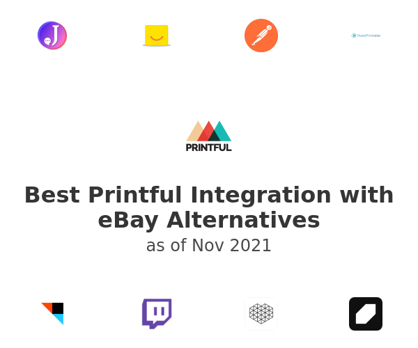Best Printful Integration with eBay Alternatives
