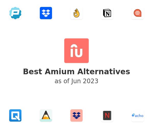Best Amium Alternatives