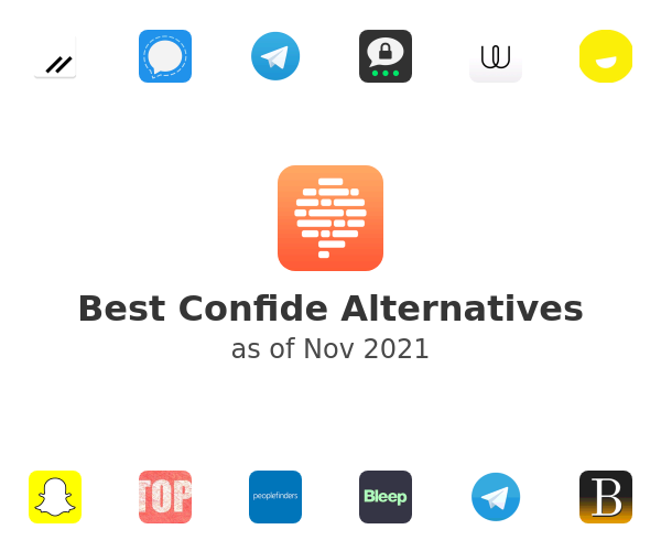 Best Confide Alternatives