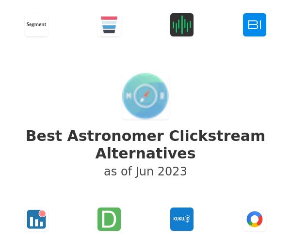 Best Astronomer Clickstream Alternatives