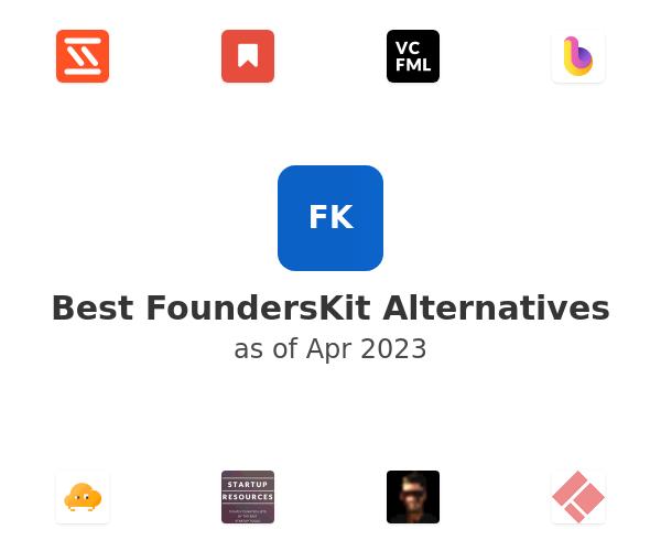 Best FoundersKit Alternatives