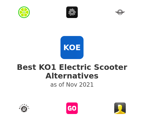 Best KO1 Electric Scooter Alternatives