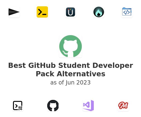 Best GitHub Student Developer Pack Alternatives
