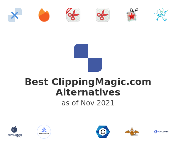 Best ClippingMagic.com Alternatives