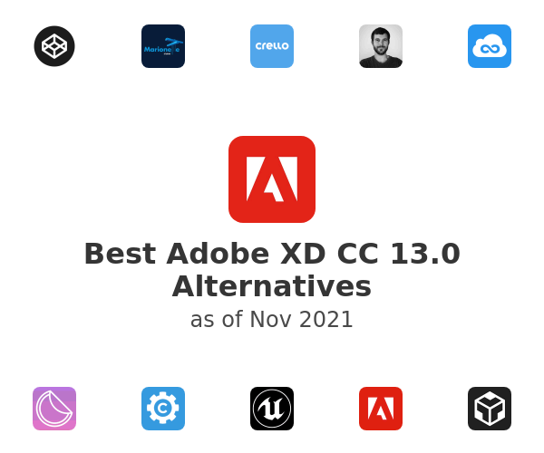 Best Adobe XD CC 13.0 Alternatives