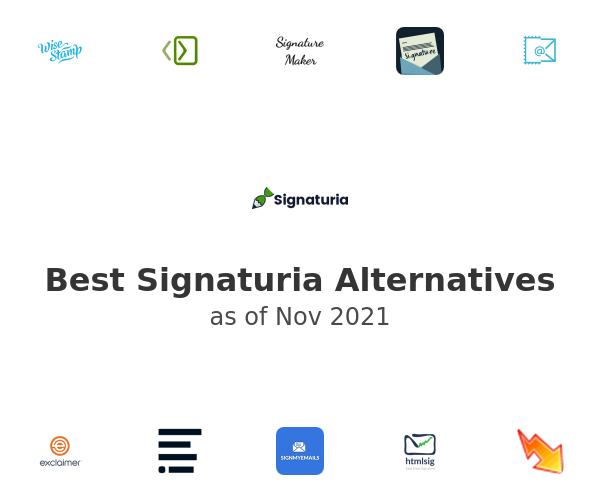 Best Signaturia Alternatives