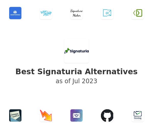 Best Signaturia Alternatives