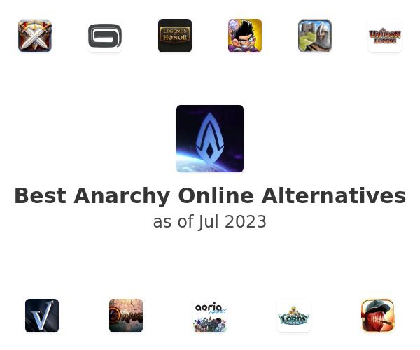 Best Anarchy Online Alternatives