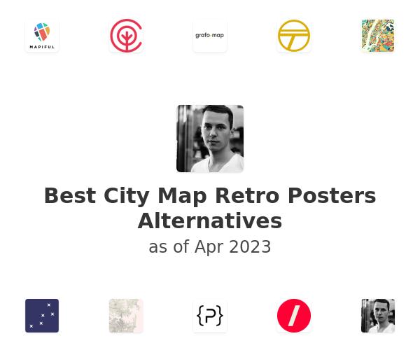 Best City Map Retro Posters Alternatives