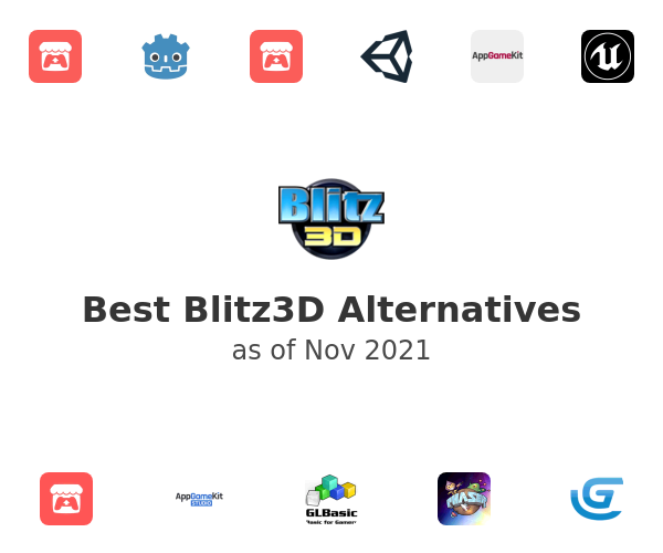 Best Blitz3D Alternatives