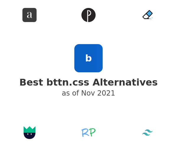 Best bttn.css Alternatives
