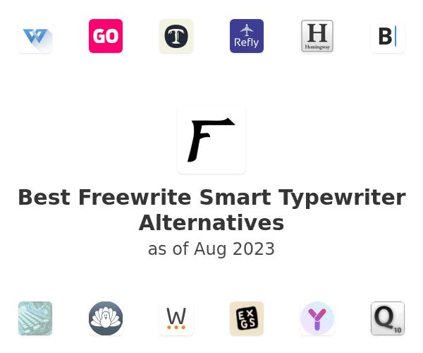 Best Freewrite Smart Typewriter Alternatives