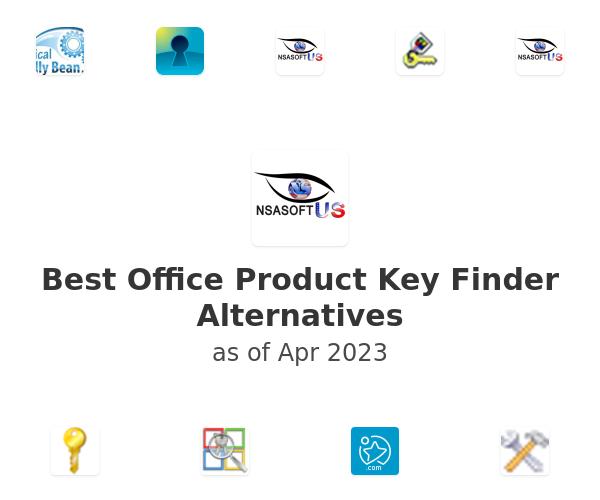 Best Office Product Key Finder Alternatives