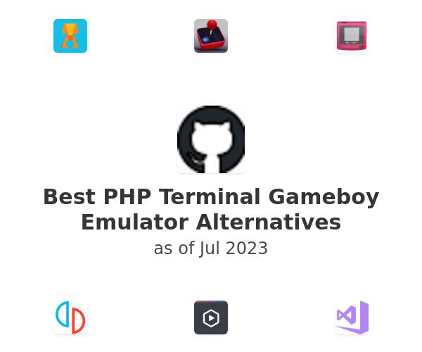 Best PHP Terminal Gameboy Emulator Alternatives