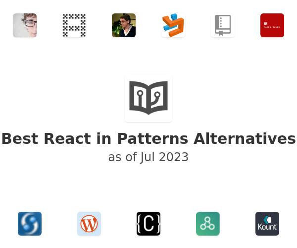Best React in Patterns Alternatives