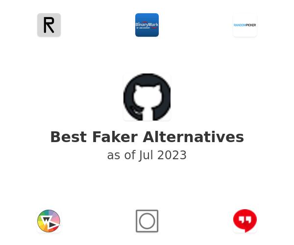 Best Faker Alternatives