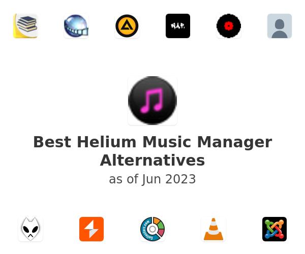Best Helium Music Manager Alternatives