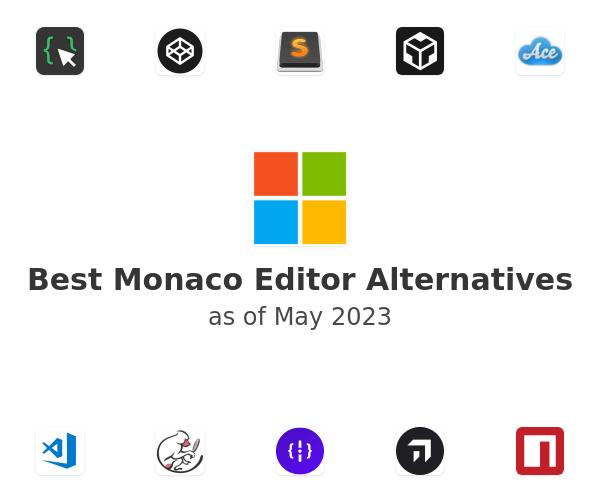 Best Monaco Editor Alternatives