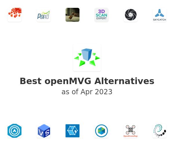 Best openMVG Alternatives