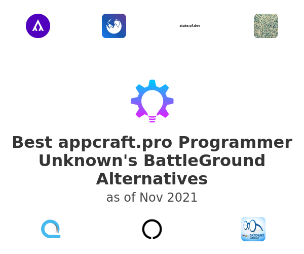 Best Programmer Unknown's BattleGround Alternatives