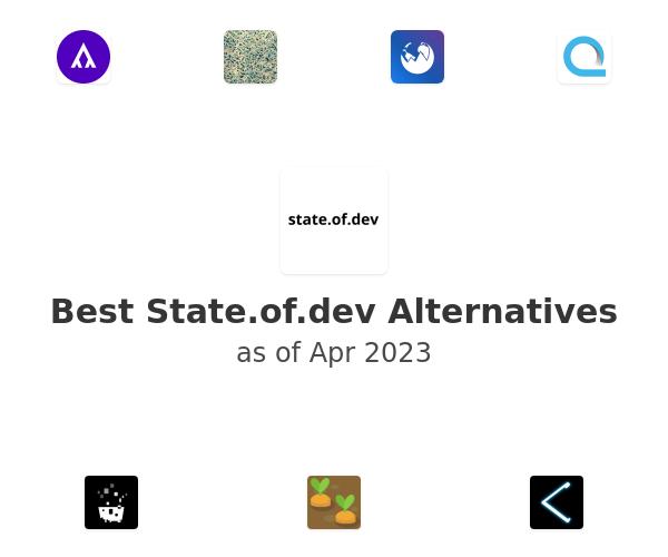 Best State.of.dev Alternatives