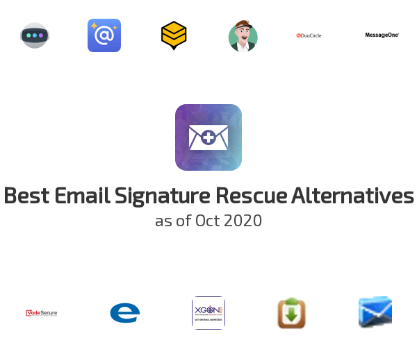 Best Email Signature Rescue Alternatives