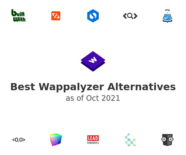 Best Wappalyzer Alternatives