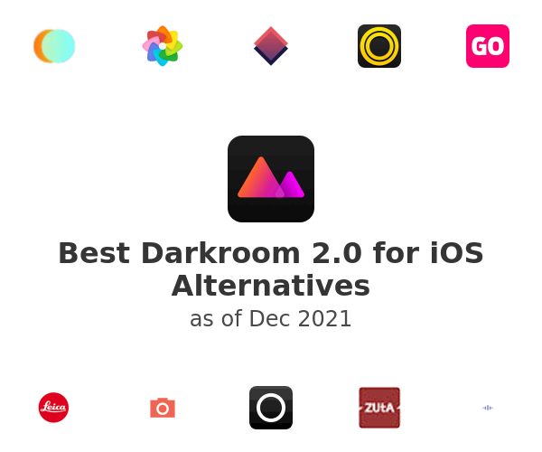 Best Darkroom 2.0 for iOS Alternatives