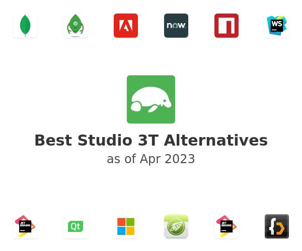 Best Studio 3T Alternatives
