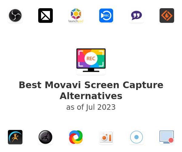 Best Movavi Screen Capture Alternatives