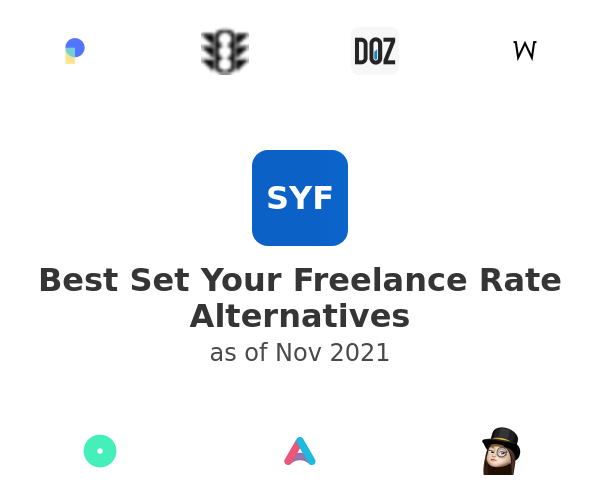 Best Set Your Freelance Rate Alternatives