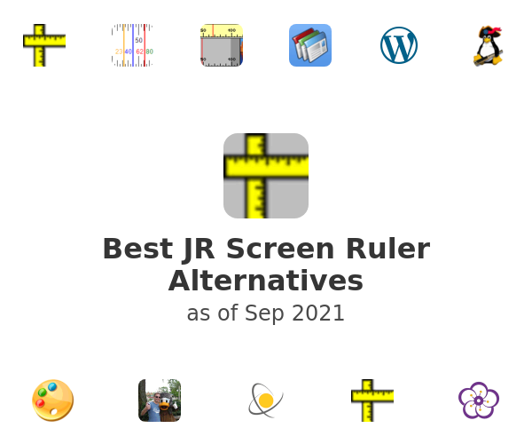 Best JR Screen Ruler Alternatives