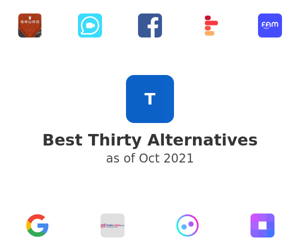 Best Thirty Alternatives