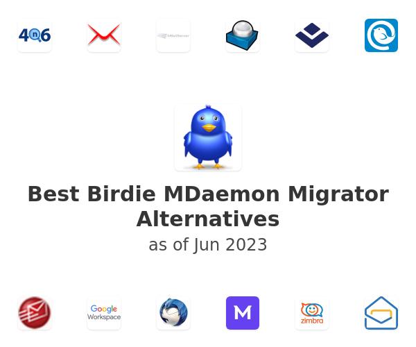 Best Birdie MDaemon Migrator Alternatives