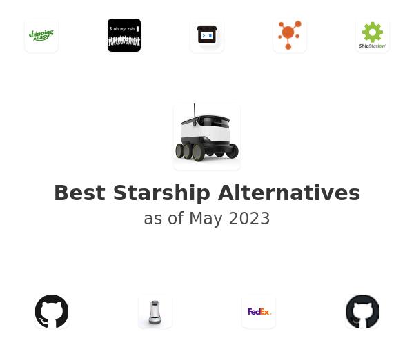 Best Starship Alternatives