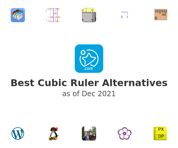 Best Cubic Ruler Alternatives