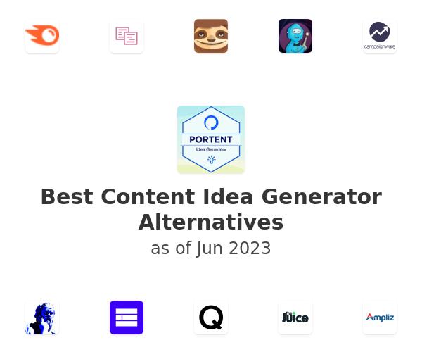 Best Content Idea Generator Alternatives