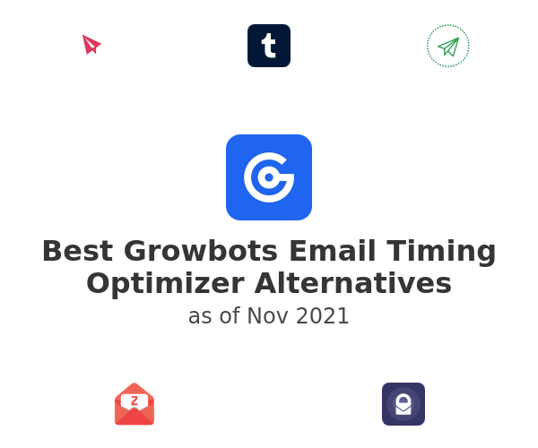 Best Growbots Email Timing Optimizer Alternatives