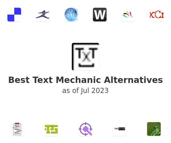 Best Text Mechanic Alternatives