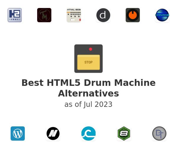 Best HTML5 Drum Machine Alternatives