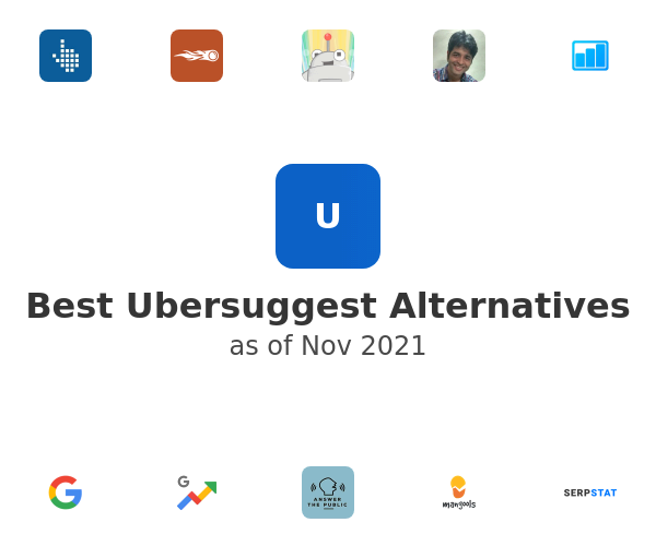 Best Ubersuggest Alternatives