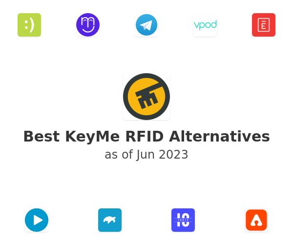 Best KeyMe RFID Alternatives