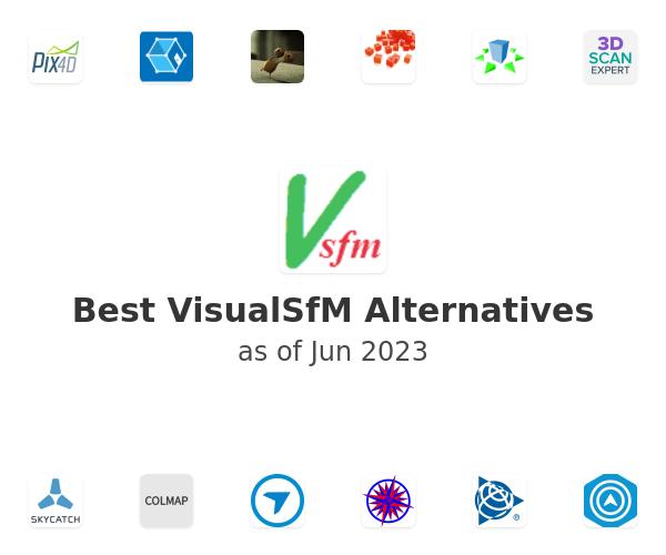 Best VisualSfM Alternatives